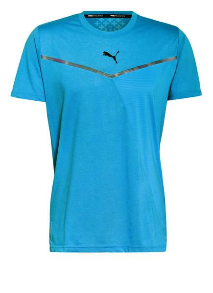 PUMA T-Shirt THERMO R+BND, Farbe: HELLBLAU (Bild 1)