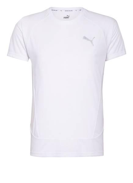 PUMA T-Shirt EVOSTRIPE, Farbe: WEISS (Bild 1)