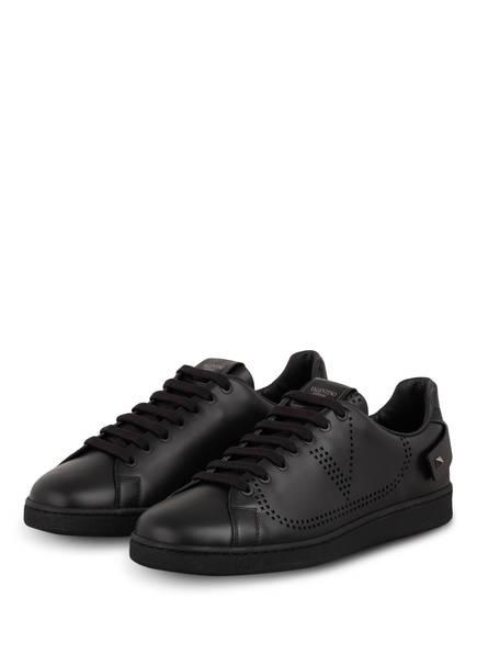 VALENTINO GARAVANI Sneaker BACKNET, Farbe: SCHWARZ (Bild 1)