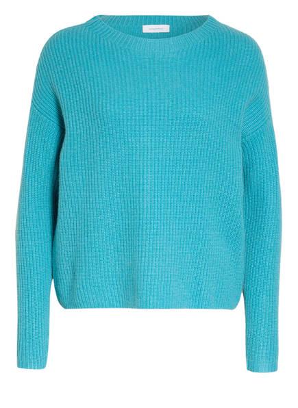 darling harbour Cashmere-Pullover , Farbe: TÜRKIS MELIERT (Bild 1)