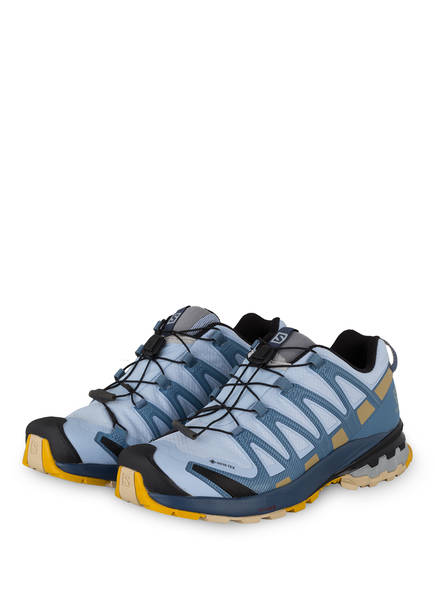SALOMON Trailrunning-Schuhe XA PRO 3D V8 GTX, Farbe: HELLBLAU/ KHAKI (Bild 1)