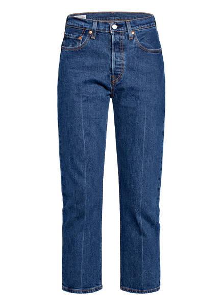 Levi's® Jeans 501 CROP , Farbe: 26 CHARLESTON PRESSED DARK BLUE (Bild 1)