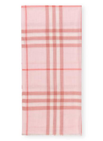 BURBERRY Schal, Farbe: ALABASTER PINK (Bild 1)