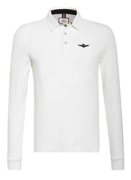 AERONAUTICA MILITARE Jersey-Poloshirt , Farbe: WEISS (Bild 1)