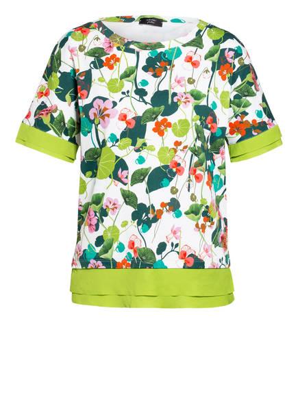 MARC CAIN T-Shirt mit Paillettenbesatz , Farbe: 257 PRISM PINK (Bild 1)