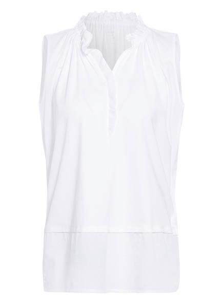 MARCCAIN Blusentop , Farbe: 100 WHITE (Bild 1)