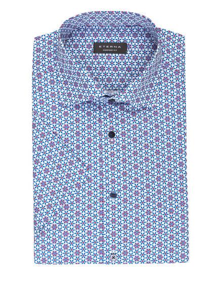 ETERNA Halbarm-Hemd Comfort Fit, Farbe: BLAU/ WEISS/ ROT (Bild 1)