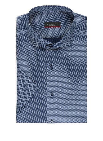 ETERNA Halbarm-Hemd Modern Fit, Farbe: BLAU/ WEISS (Bild 1)