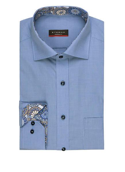 ETERNA Hemd Modern Fit, Farbe: BLAU/ WEISS KARIERT (Bild 1)