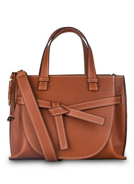 LOEWE Handtasche GATE SMALL, Farbe: COGNAC (Bild 1)