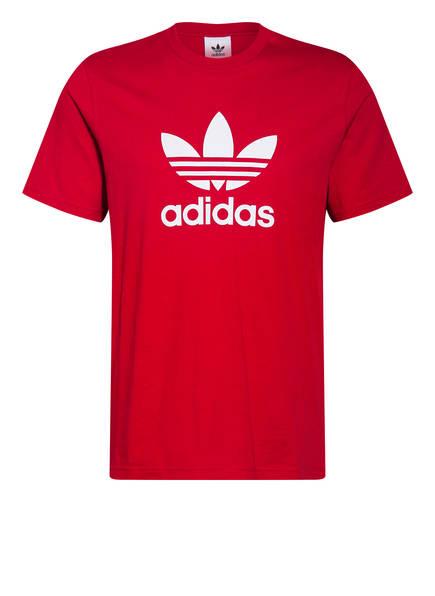 adidas Originals T-Shirt TREFOIL, Farbe: ROT (Bild 1)