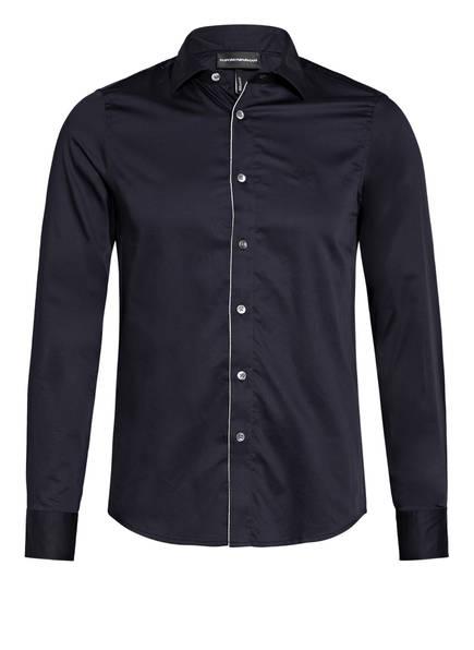 EMPORIO ARMANI Hemd Extra Slim Fit , Farbe: DUNKELBLAU (Bild 1)