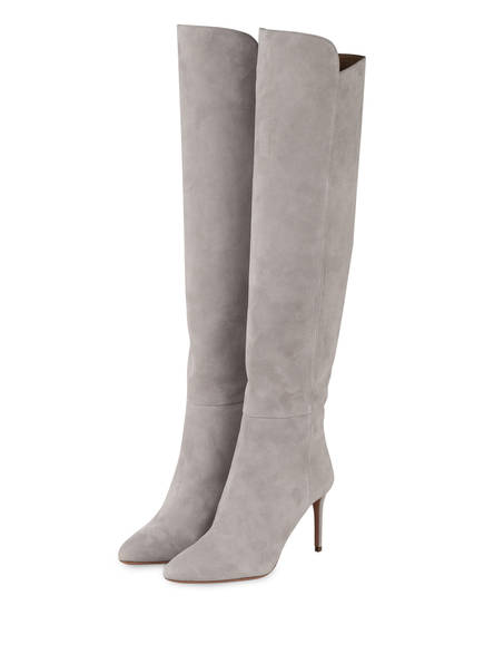 AQUAZZURA Stiefel GAINSBOURG, Farbe: HELLGRAU (Bild 1)