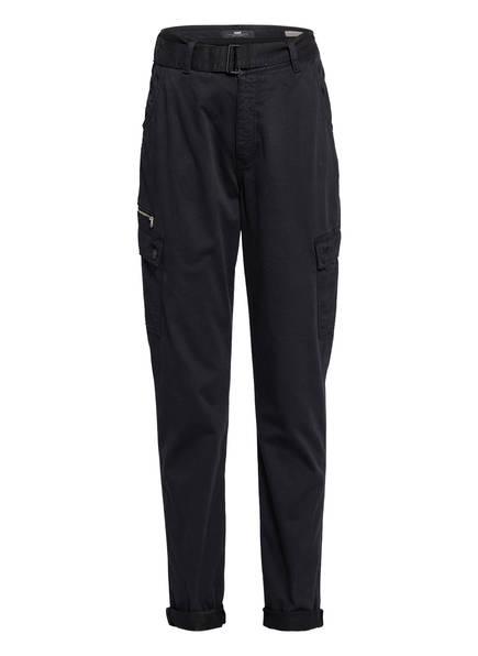 mavi Cargohose JOHANNA aus Jeans, Farbe: SCHWARZ (Bild 1)
