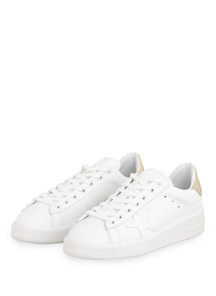 GOLDEN GOOSE DELUXE BRAND Sneaker PURE STAR, Farbe: WEISS/ GOLD (Bild 1)