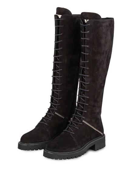 GIUSEPPE ZANOTTI DESIGN Stiefel COMBAT, Farbe: SCHWARZ (Bild 1)