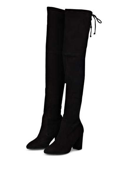 STUART WEITZMAN Overknee-Stiefel ZUZANNA 80, Farbe: SCHWARZ (Bild 1)