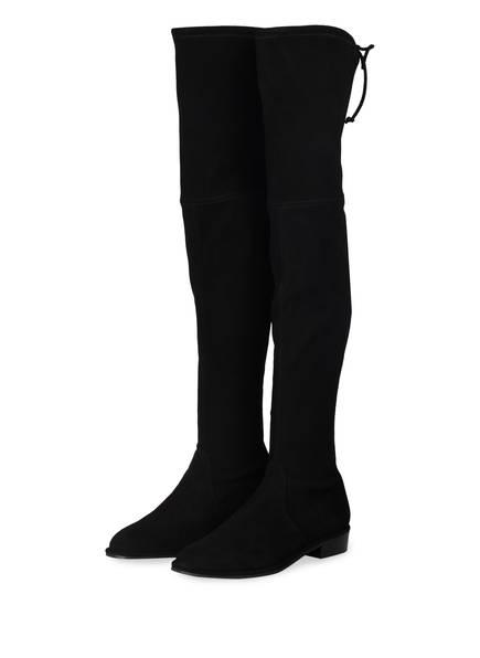 STUART WEITZMAN Overknee-Stiefel LOWLAND, Farbe: SCHWARZ (Bild 1)