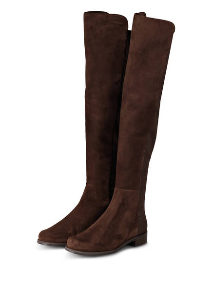 STUART WEITZMAN Overknee-Stiefel , Farbe: BRAUN (Bild 1)