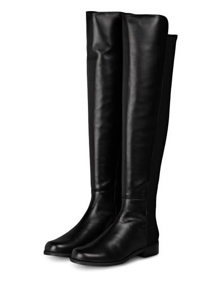 STUART WEITZMAN Overknee-Stiefel , Farbe: SCHWARZ (Bild 1)