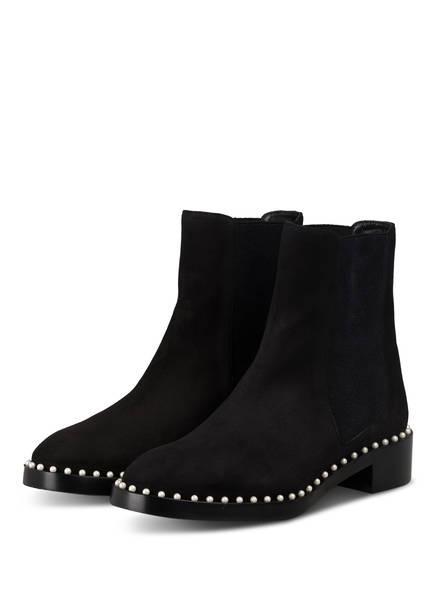 STUART WEITZMAN Chelsea-Boots CLINE mit Perlenbesatz, Farbe: SCHWARZ (Bild 1)