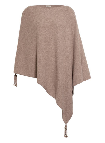 lilienfels Cashmere-Poncho, Farbe: TAUPE (Bild 1)
