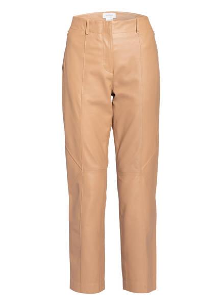 SPORTMAX Lederhose DORIA, Farbe: CAMEL (Bild 1)