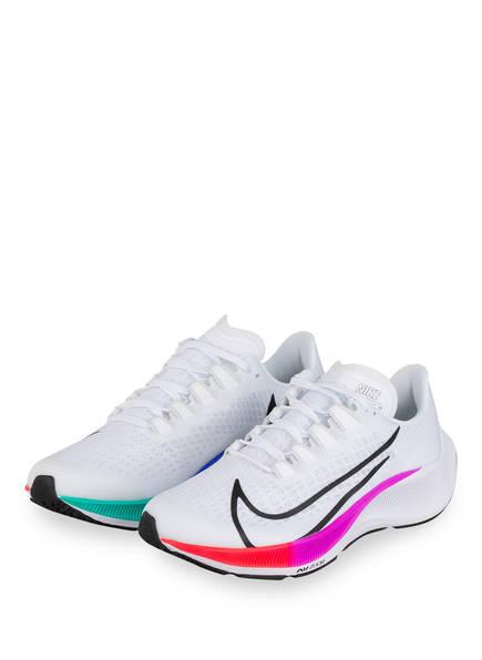 Nike Laufschuhe PEGASUS 37, Farbe: WEISS/ LILA/ GRÜN (Bild 1)