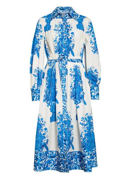 VALENTINO GARAVANI Hemdblusenkleid, Farbe: BLAU/ WEISS (Bild 1)