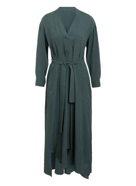 WEEKEND MaxMara Kleid JAMES mit Seide , Farbe: DUNKELGRÜN (Bild 1)