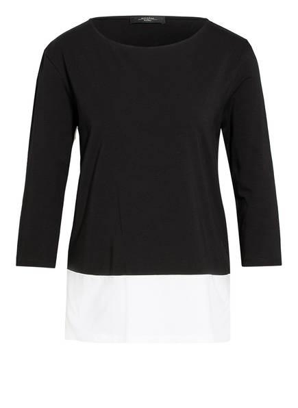 WEEKEND MaxMara Shirt mit 3/4-Arm , Farbe: SCHWARZ (Bild 1)