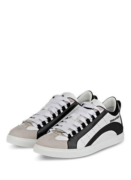 DSQUARED2 Sneaker 551, Farbe: WEISS/ SCHWARZ (Bild 1)