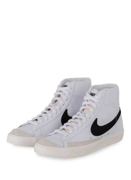 Nike Hightop-Sneaker BLAZER MID '77 VINTAGE, Farbe: WEISS/ SCHWARZ (Bild 1)