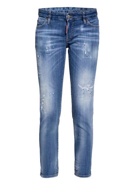 DSQUARED2 Destroyed Jeans JENNIFER, Farbe: 470 BLUE (Bild 1)
