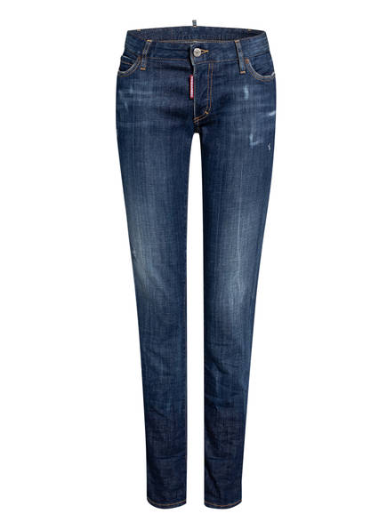 DSQUARED2 Destroyed Jeans TWIGGY, Farbe: 470 BLUE (Bild 1)