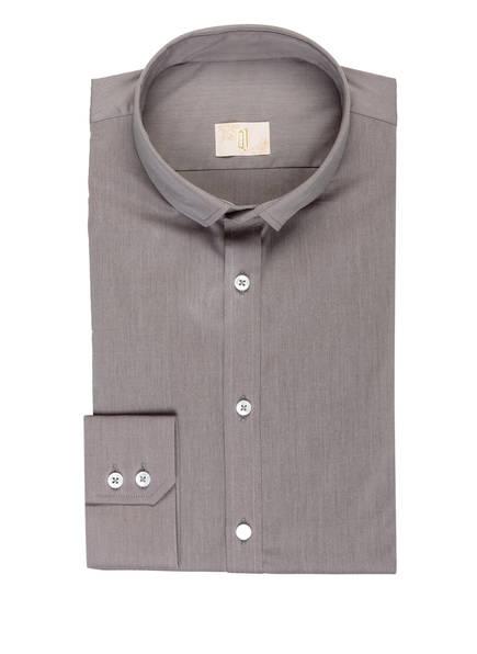 Q1 Manufaktur Hemd SANDRO Slim Fit, Farbe: GRAU (Bild 1)