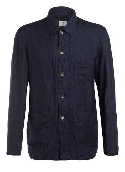 Q1 Manufaktur Overshirt Regular Fit, Farbe: DUNKELBLAU (Bild 1)