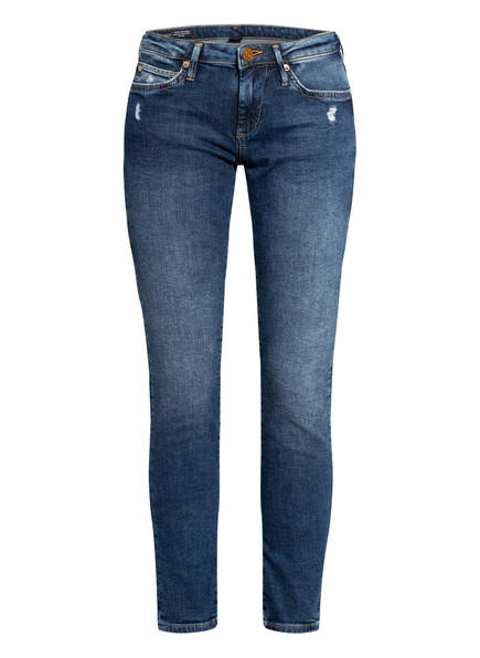 TRUE RELIGION Skinny Jeans HALLE, Farbe: 4646 DEEP BLUE (Bild 1)