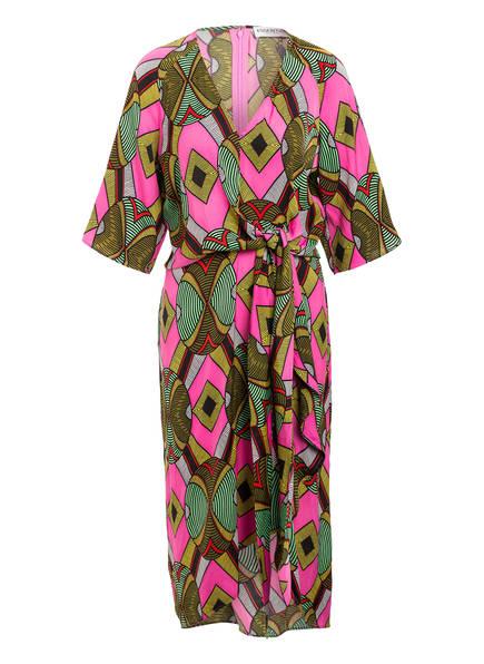 ESSENTIEL ANTWERP Kleid WAKUNA  mit 3/4-Arm, Farbe: PINK/ GRÜN/ GELB (Bild 1)