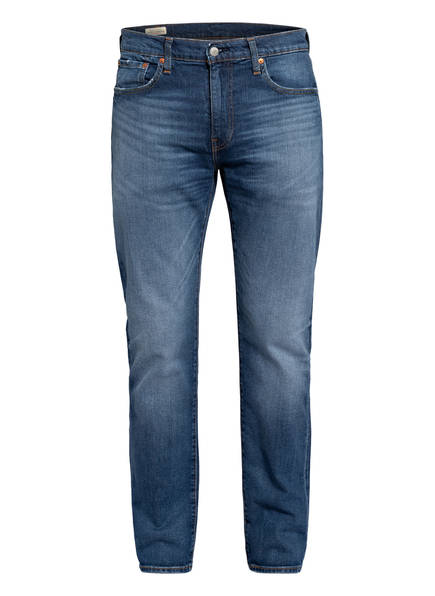 Levi's® Jeans 502 Regular Tapered Fit, Farbe: 0777 SMOKE STACKED BLUE (Bild 1)
