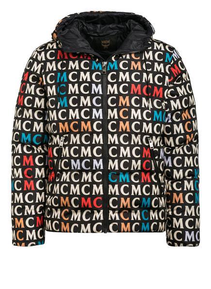MCM Daunenjacke , Farbe: SCHWARZ/ CREME/ ROT (Bild 1)