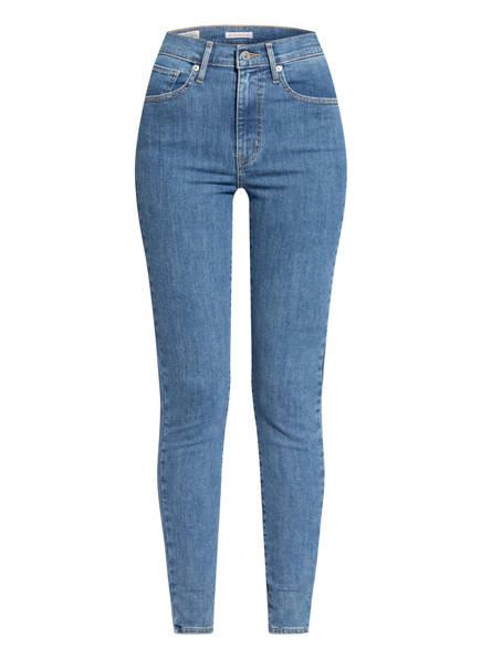 Levi's® Jeans MILE HIGH Super Skinny Fit , Farbe: 59 DARK INDIGO - FLAT FINISH BLUE (Bild 1)