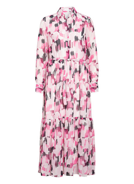 BOSS Kleid, Farbe: ROSA/ WEISS/ SCHWARZ (Bild 1)