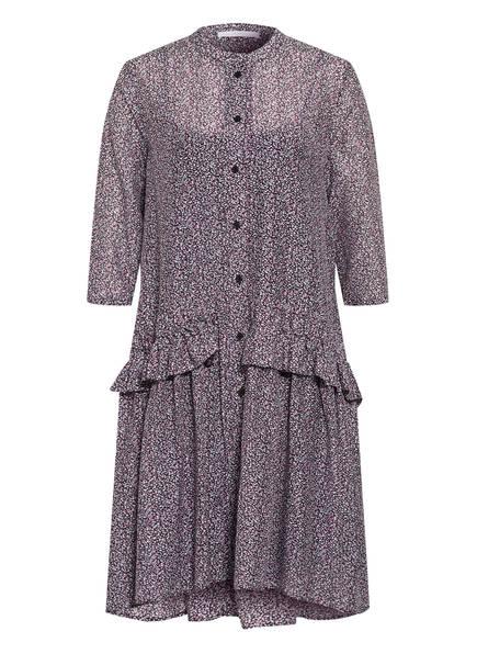 BOSS Kleid CEA mit 3/4-Arm und Seide, Farbe: DUNKELBLAU/ ALTROSA/ MINT (Bild 1)
