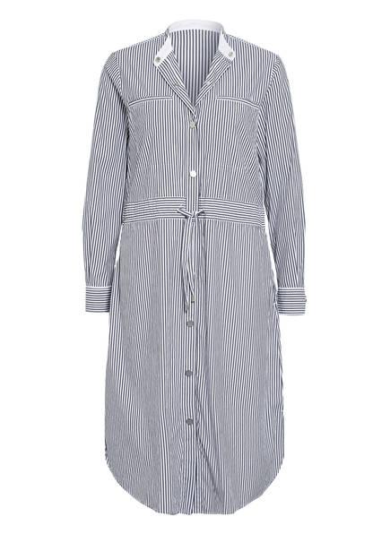 BOSS Hemdblusenkleid ESPIRIT, Farbe: DUNKELBLAU/ WEISS (Bild 1)