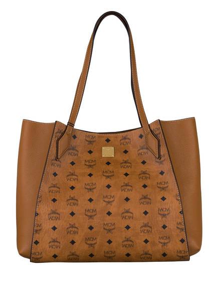 MCM Shopper LUISA MEDIUM, Farbe: COGNAC (Bild 1)