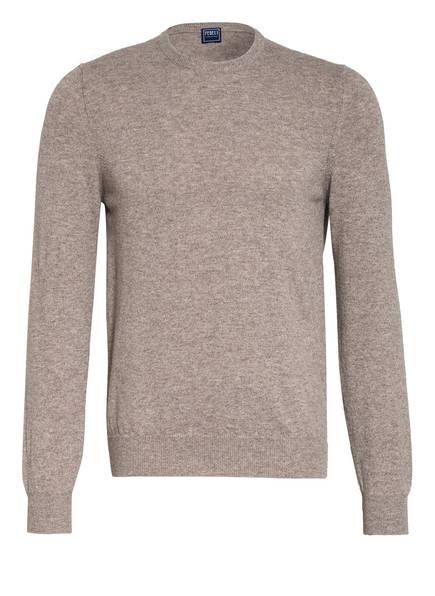 FEDELI Cashmere-Pullover ARGENTINA, Farbe: BRAUN MELIERT (Bild 1)