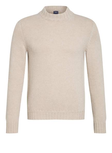 FEDELI Pullover mit Cashmere, Farbe: CREME (Bild 1)