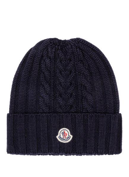 MONCLER Mütze, Farbe: DUNKELBLAU (Bild 1)