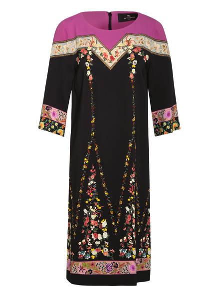 ETRO Kleid mit 3/4-Arm, Farbe: SCHWARZ/ PINK/ GELB (Bild 1)